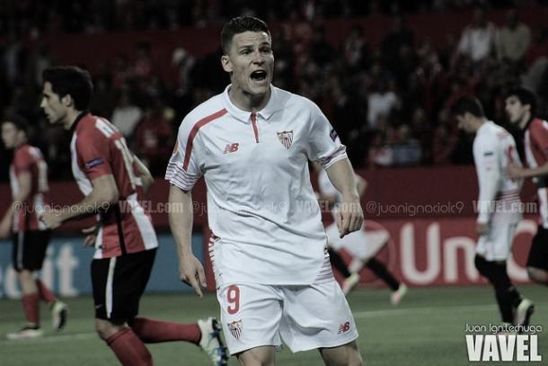 Gameiro posee el 2º mejor registro goles por minuto en la primera campaña // Foto: Juan Ignacio Lechuga