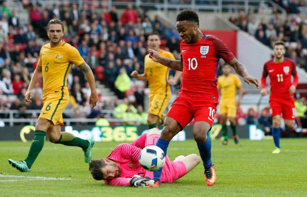 Raheem Sterling provided the assist for Rooney's second-half goal (Photo: Ed Sykes/ Reuters)