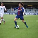 Marc Cucurella con el Barcelona B | Fuente: Vavel Flickr