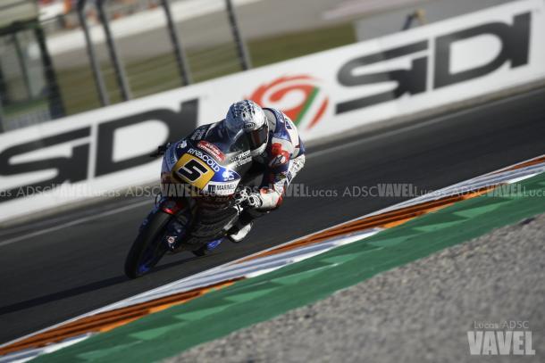 Fenati en el GP de Cataluña | Foto: Lucas ADSC - VAVEL