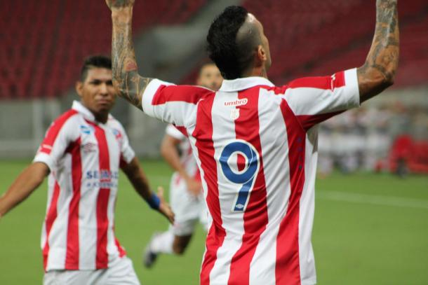 Com histórico de goleador, Rafael Coelho é a esperança do Timbu (Foto: Léo Lemos/Náutico)