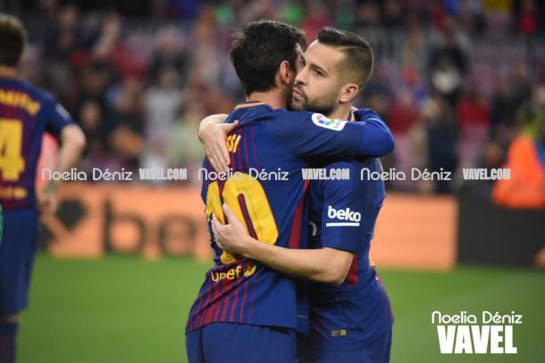 La conexión Alba-Messi vuelve a funcionar. | Fotografía: Noelia Déniz (VAVEL.com)