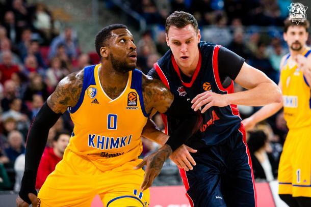 Khimki, venido a menos durante la temporada.   Foto: Baskonia