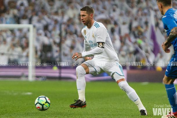 Sergio Ramos durante un partido | Foto: Daniel Nieto (VAVEL)