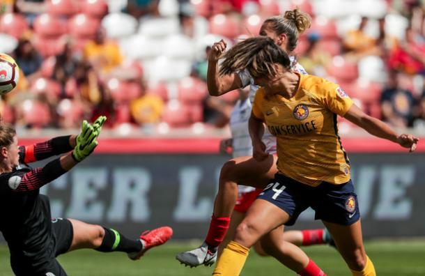 Katie Stengel puts Utah back in front | Source: Spenser Heaps-KSL.com