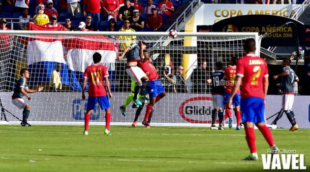 Paraguay and Costa Rica battles to a 0-0 draw in their Group A opener this past Saturday   Alex Olivera - VAVEL USA