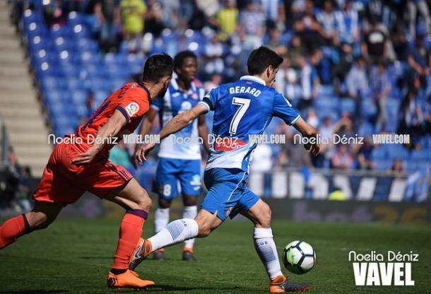 Gerard Moreno en un partido donde anotó I Foto: Noelia Déniz (VAVEL)