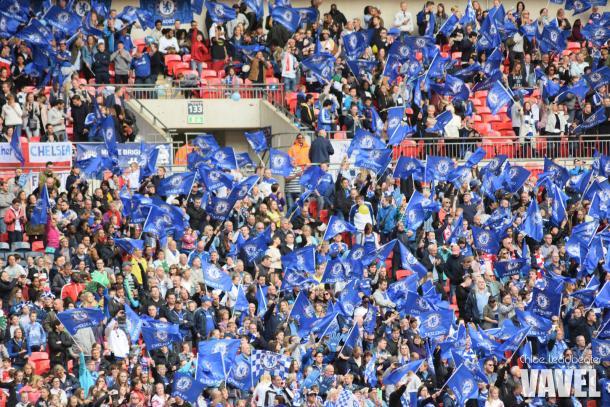 Chelsea fans.