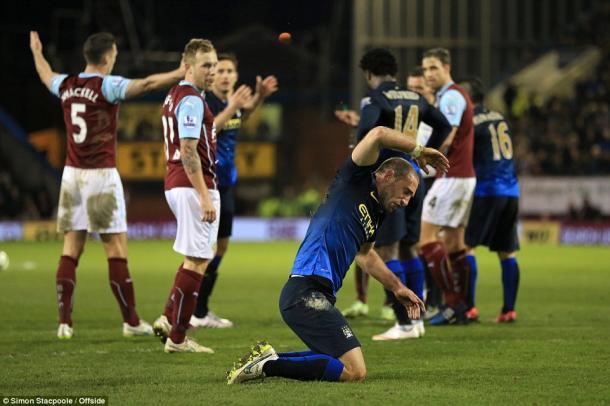 En su último enfrentamiento el Burnley ganó. Foto:Simon Stacpoole.