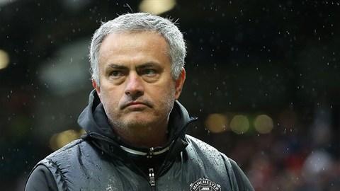 Mourinho esta temporada. | Foto: Manchester United