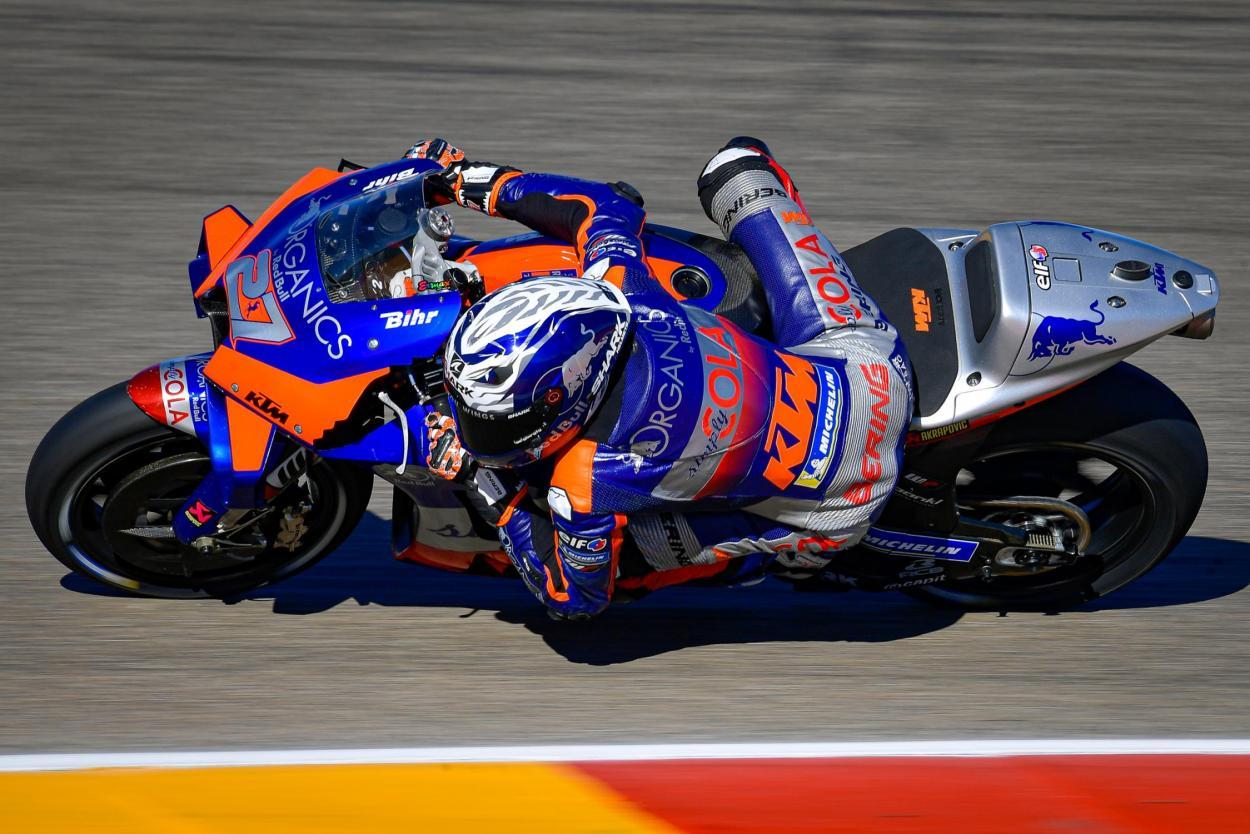 Lecuona obtuvo su mejor resultado en el GP de Teruel, acabando 9º. Imagen: MotoGP