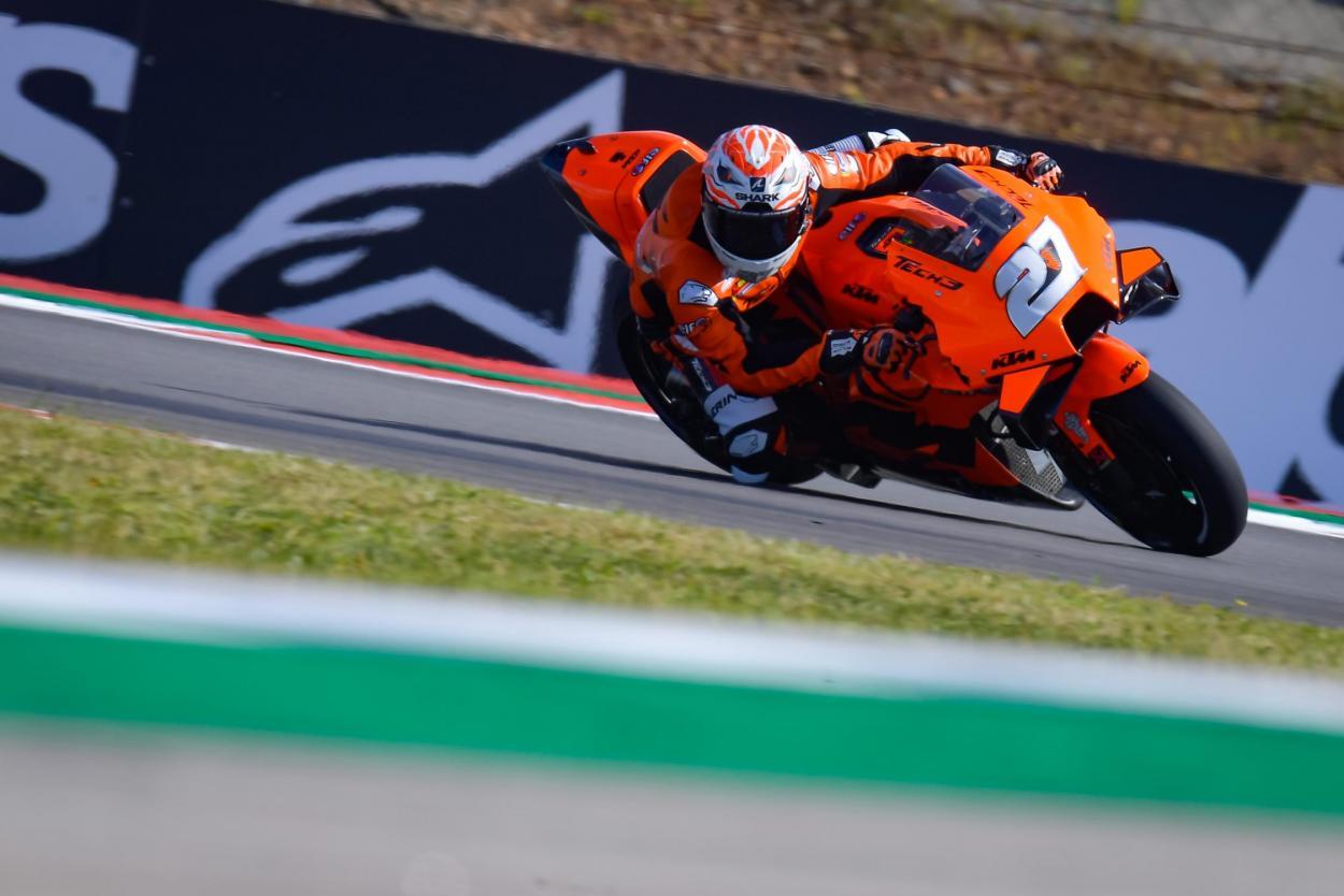Iker Lecuona durante el fin de semana en Portimao. Imagen: MotoGP