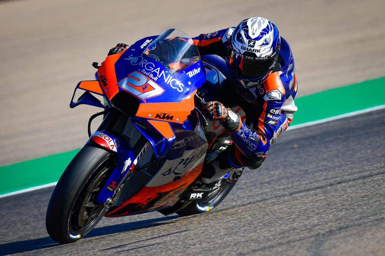 Iker Lecuona ha acabado 20º en su primer campeonato en la categoría reina. Imagen: MotoGP