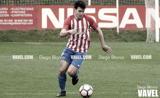 Iván Elena, máximo artillero del Sporting de Gijón en la División de Honor Grupo 1 | Foto del Real Sporting de Gijón