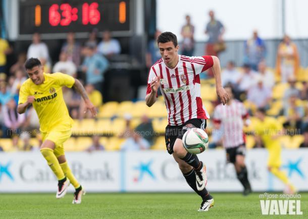 Enfrentamiento del play off frente al Villarreal B | Foto: VAVEL España