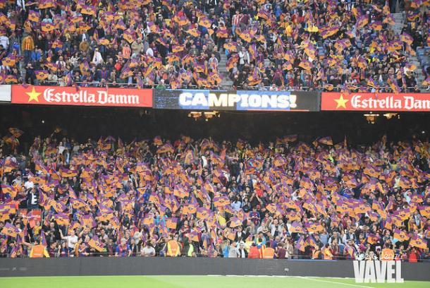 El Camp Nou celebrará los títulos del Barcelona | Foto: Noelia Déniz - VAVEL