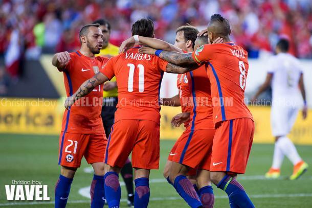 Chile llega en plan grande al juego.