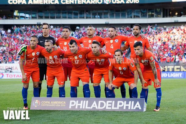 Chile snapped back into top form in its final group stage match, which was held against Panama in the City of Brotherly Love. | Photo: Christina Hoy/VAVEL USA