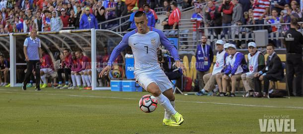 Bobby Wood will not be available for Bruce Arena this round | Source: Francine Scott - VAVEL USA