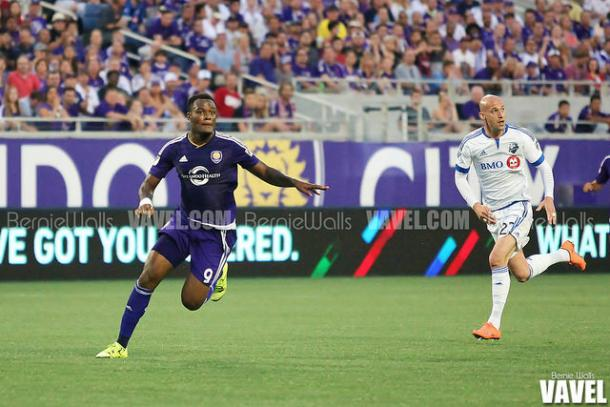 Cyle Larin (left) will look to add to his goal tally tonight | Source: Bernie Walls - VAVEL USA