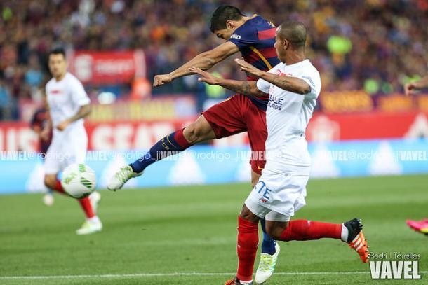 El Sevilla volvería enfrentarse al Barça en la final de la Copa del Rey / Fuente: Rodri J.Torrellas - Vavel