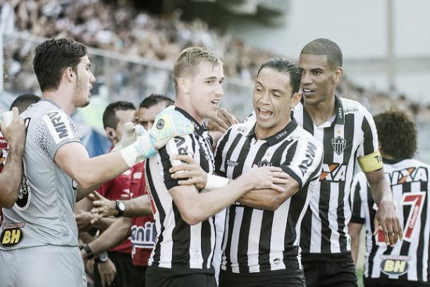 Ricardo Oliveira é destaque no Alvinegro mineiro (Foto: Divulgação/Atlético)