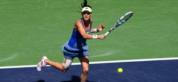 Aga Radwanska's fine form in 2016 continued against Jelena Jankovic. Image Credit: Getty