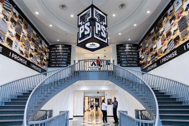 Estas son las instalaciones creadas por LeBron James.   Foto: LeBron James Family Foundation