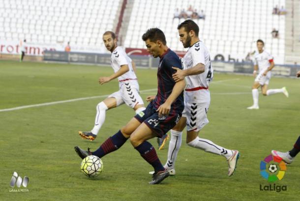 El debut en casa fue ante el Huesca | Foto: LFP.
