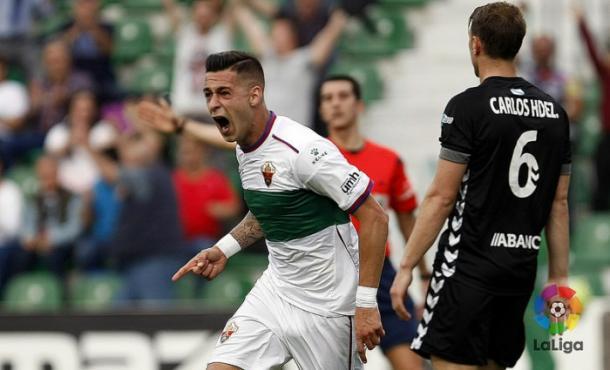 Sergio León acabó siendo pichichi de la Liga Adelante | Foto: LFP.