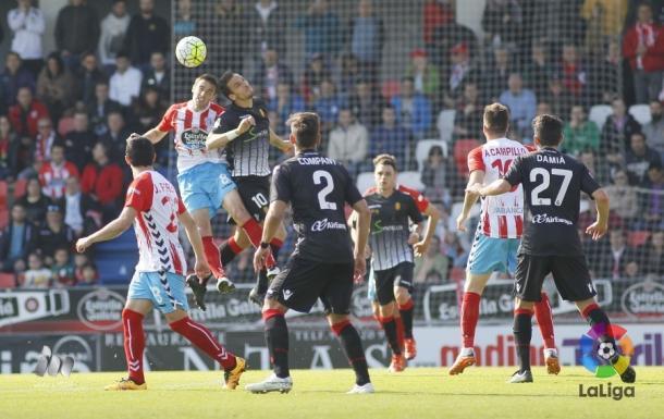 Damià y Company durante un partido | Foto: LFP.