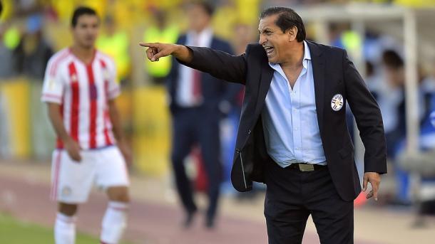 Paraguay NT coach Ramon Diaz. Photo: AFP