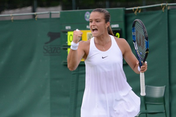 Sakkari fights back against Williams strong ball | photo: the tennis island