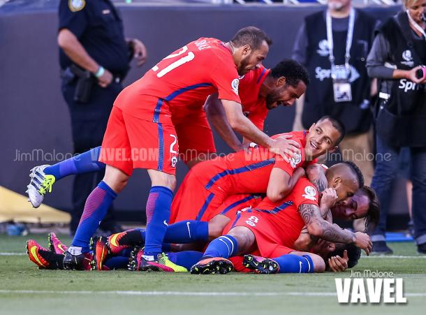 Chile will be looking to keep up their great form against Colombia