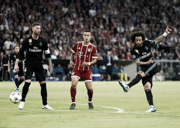 Marcelo empata el encuentro en casa | Foto: Real Madrid C.F.