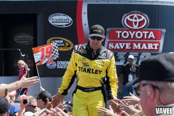 Carl Edwards decided to step away from racing  Picture Credit: Brandon Farris