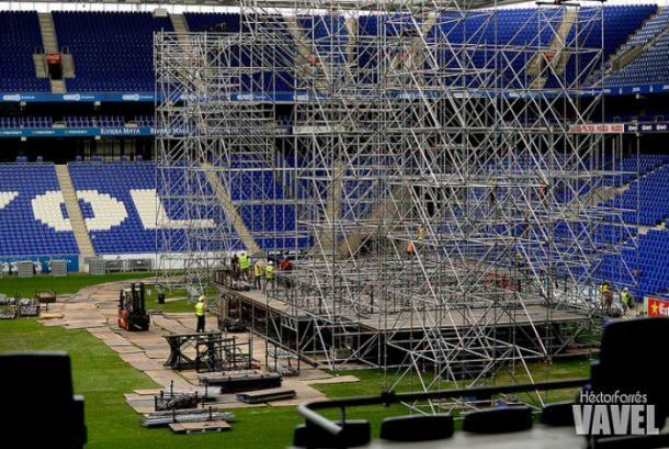 Concierto celebrado en el RCDE Stadium | Foto: VAVEL.