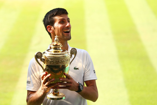 Djokovic's Wimbledon run went a long way towards restoring his confidence. Photo: Matthew Stockman/Getty Images