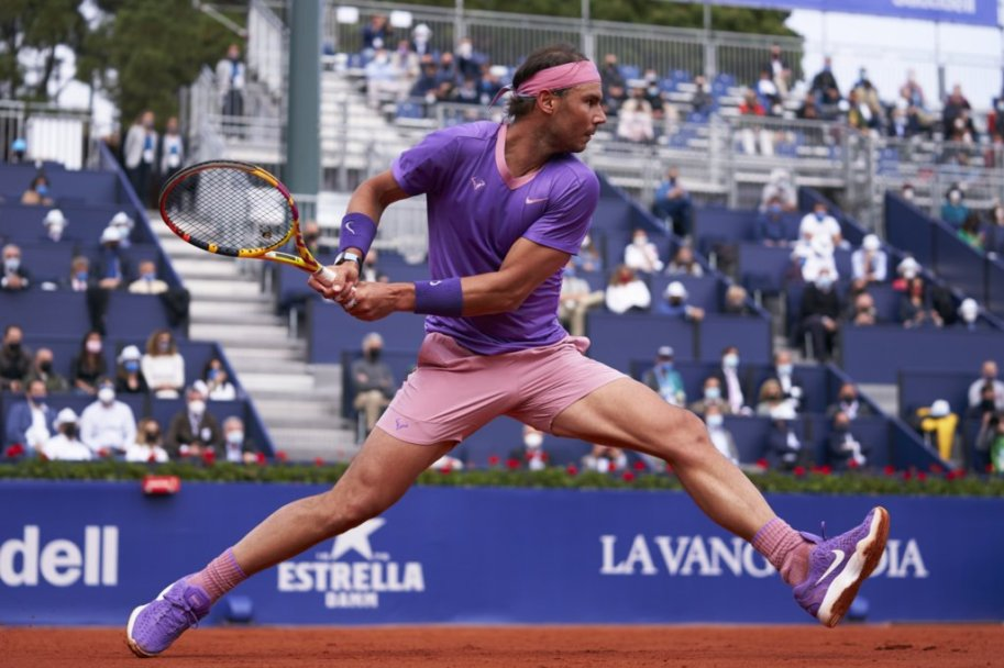 Nadal in action earlier in the week in Barcelona/Photo: Barcelona Open Banc Sabadell