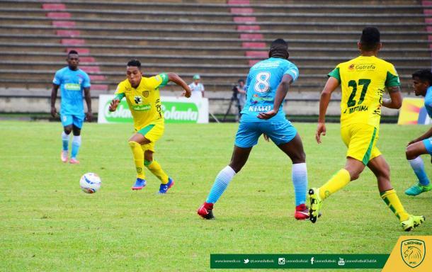 Leones FC vs Jaguares. Foto: Leones FC.