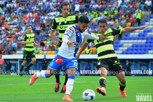 Alexis Canelo durante el último duelo entre ambos equipos en el Cuauhtémoc | Foto: Rodrigo Peña VAVEL