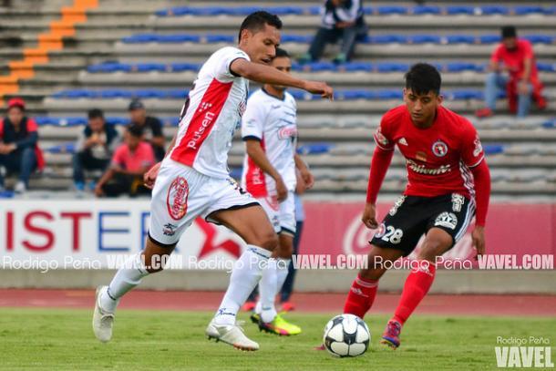 Daniel Tehuitzil durante un duelo de Copa MX ante Xolos | Foto: Rodrigo Peña VAVEL