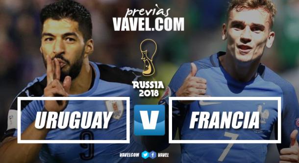 Uruguay vs Francia | Fotomontaje: Dani Souto (VAVEL)