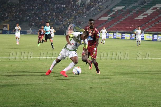 Deportes Tolima vs Atlético Bucaramanga. Foto: Deportes Tolima.