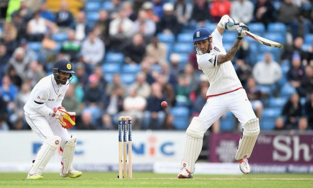 Alex Hales looked in fine form during his unbeaten knock of 71 on Day One (Photo: Gareth Copley/Getty Images)