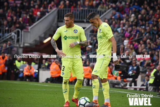 Acción correspondiente al FC Barcelona 0-0 Getafe CF / Foto: Noelia Déniz (VAVEL.com)