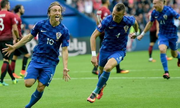 Luka Modric's wonder strike was the difference, but it could have been worse for Turkey (Photo: Getty Images)