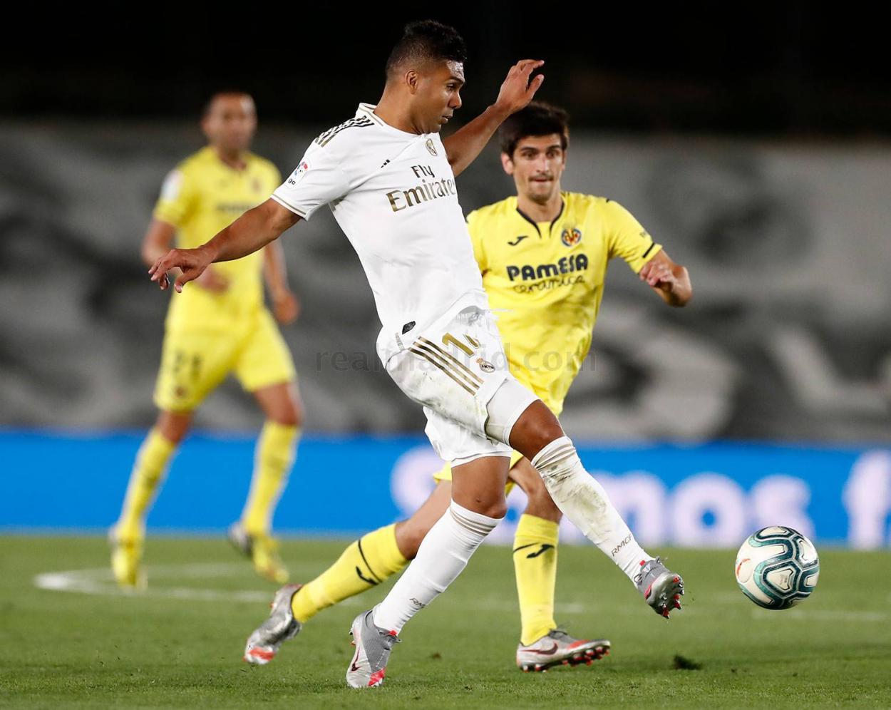 Casemiro fue clave en el 2-1 de la segunda vuelta de LaLiga Santander 19/20 | Fuente: www.realmadrid.com