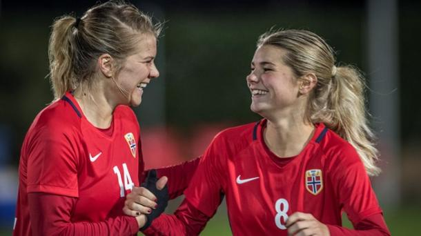The Hegerberg sisters are key to Norway's chances | Source: fifa.com