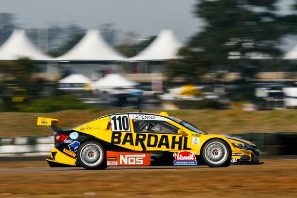 Felipe Lapenna larga em 25º. (Foto: Vanderley Soares)